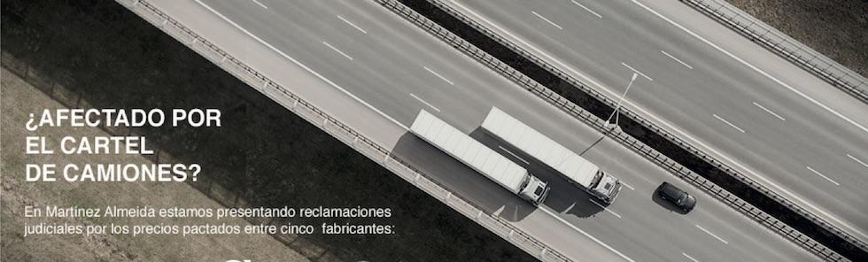 Perjudicados cártel de camiones